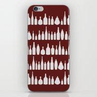Bottles Red iPhone & iPod Skin