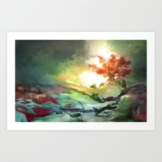 Weirwood Art Print