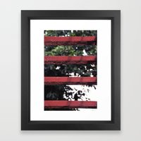Metal Steps Framed Art Print