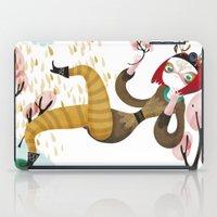 Deer Girl iPad Case