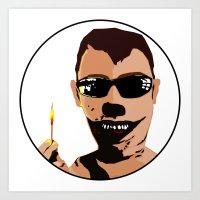 Mr. F - Arsonist Art Print
