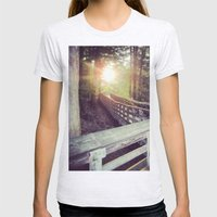 Sun In The Park Womens Fitted Tee Ash Grey SMALL