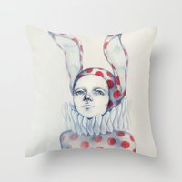 It Is Time Throw Pillow