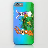 Happy Easter! Rabbit Wit… iPhone 6 Slim Case