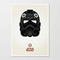 Imperial Pilot Canvas Print