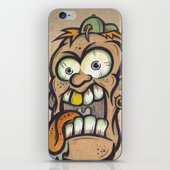 FOURHEADS ARE BETTER THAN ONE iPhone & iPod Skin