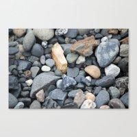 Rocks Pebbles Stones :: Alaskan Sand Canvas Print