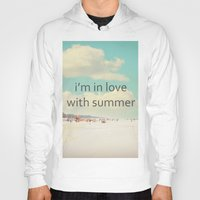 I'm In Love With Summer Hoody