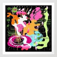 Splat Rx Art Print