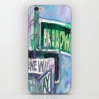 Broadway Sign iPhone & iPod Skin