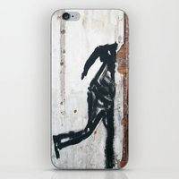 People Disappear, Right Before Our Eyes, Like Old Bricks In a Wall iPhone & iPod Skin
