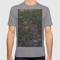 Green On The Ground Mens Fitted Tee Athletic Grey SMALL