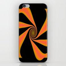 Abstract. Orange+Yellow. iPhone & iPod Skin