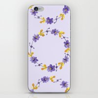 violets iPhone & iPod Skin