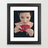 Searching For The New Trends Framed Art Print
