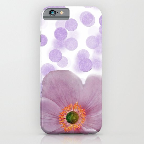 Japanese Anemone iPhone & iPod Case