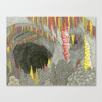 Color Cave Canvas Print