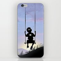 Spider Kid iPhone & iPod Skin