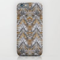 iPhone & iPod Case featuring Wood Quilt 2 by PatternPeople
