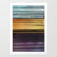 Amanda Wants Stripes Art Print