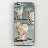 Cats in Cups iPhone & iPod Skin