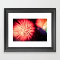 Fireworks - Philippines … Framed Art Print