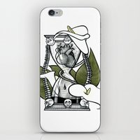 Hourglass iPhone & iPod Skin