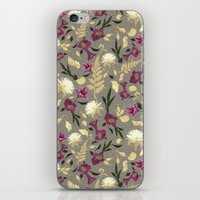 Flowers & Sea Shells iPhone & iPod Skin