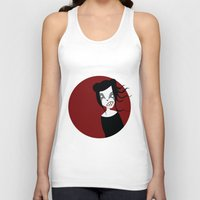Under The Red Moon Unisex Tank Top
