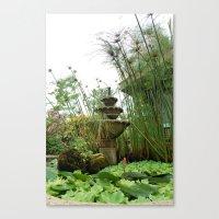 Lush Hideaway Canvas Print