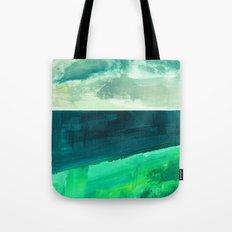 Clouds and sea Tote Bag
