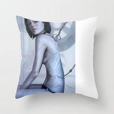 Humanization Throw Pillow