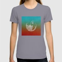 Wandering Days Womens Fitted Tee Slate SMALL