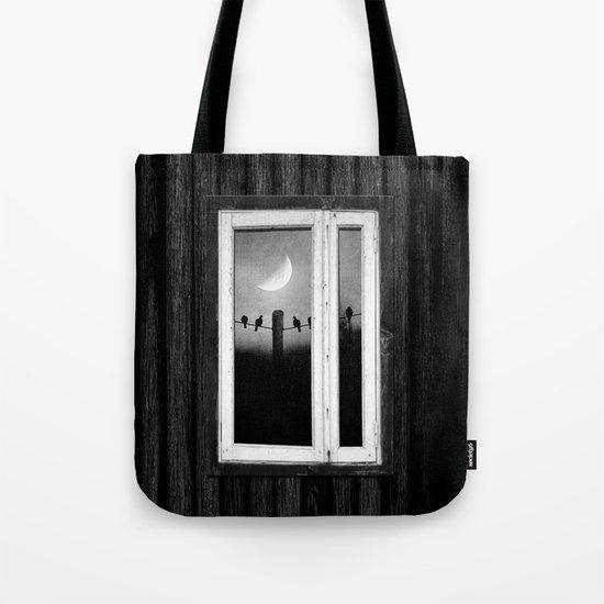 Minimal B&W I Tote Bag