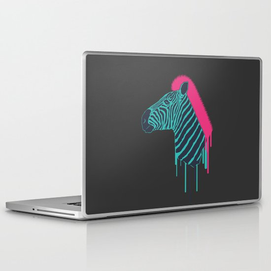 Zebra's Not Dead Laptop & iPad Skin