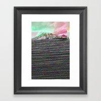 Mount Wisdom Framed Art Print