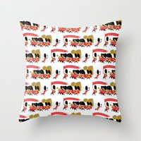 Play That Funky Music So… Throw Pillow