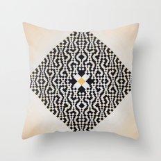 Heart of GO(L)D Throw Pillow