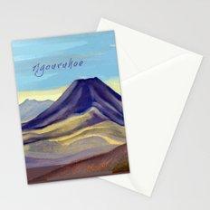 Mount Ngauruhoe Stationery Cards