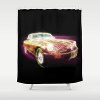 Neon MG - Return of the Retro Shower Curtain