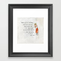 Princess And The Pots Pa… Framed Art Print