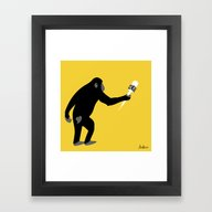 Monkey Business! Framed Art Print