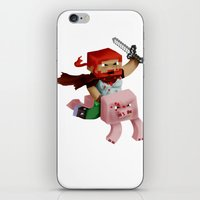 Minecraft Avatar H00j0 iPhone & iPod Skin