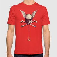 The Supernatural Pirate Mens Fitted Tee Red SMALL