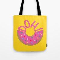 Doh! Tote Bag