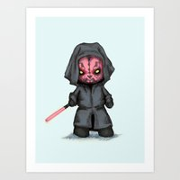 Plush Maul Art Print