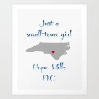 Hope Mills Art Print