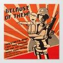 Propaganda Series Canvas Print