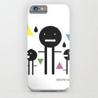 iPhone & iPod Case featuring falsche sachen by design district