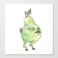 pear baby Canvas Print